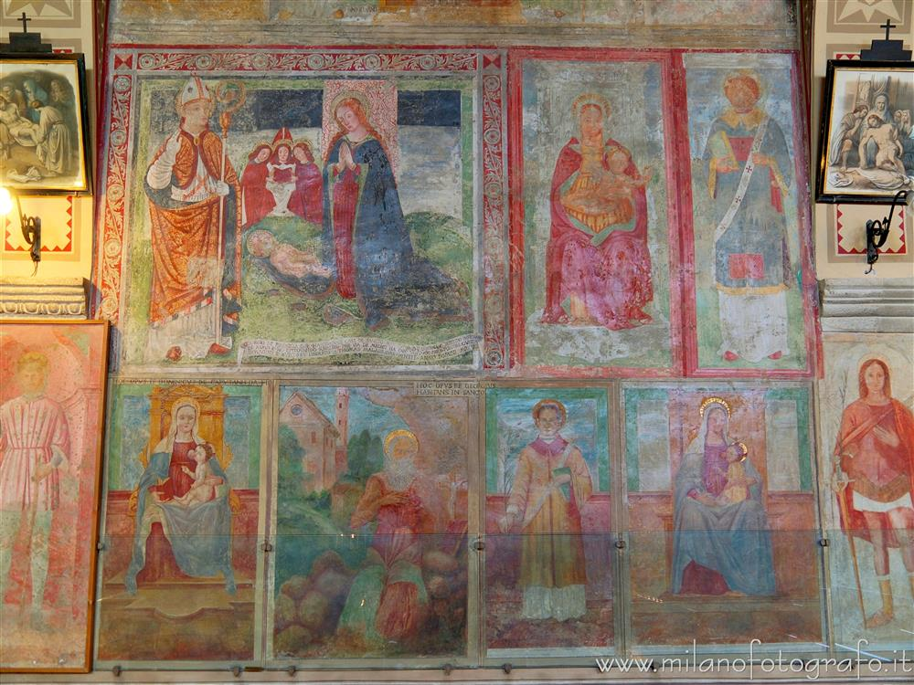 Merate (Lecco, Italy) - Votive frescoes in the Convent of Sabbioncello