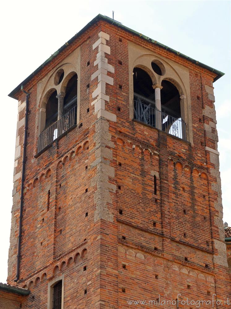 Milan (Italy) - Bell tower of the Basilica of San Simpliciano