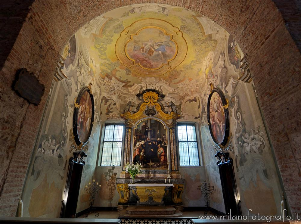 Milan (Italy) - Chapel of San Benedict in the Basilica of San Simpliciano