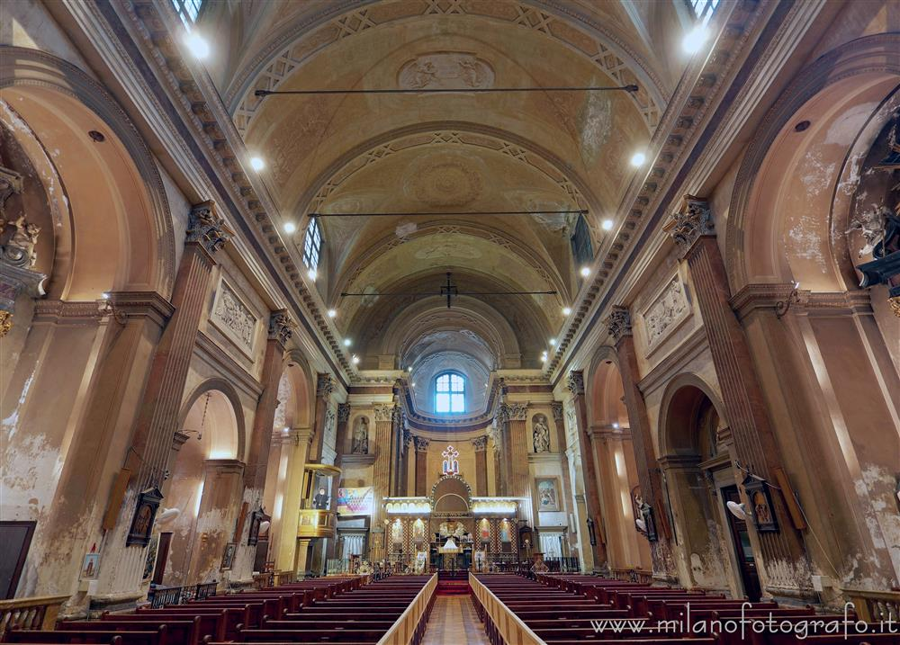 Milan (Italy) - Interior of the Church of San Pietro Celestino