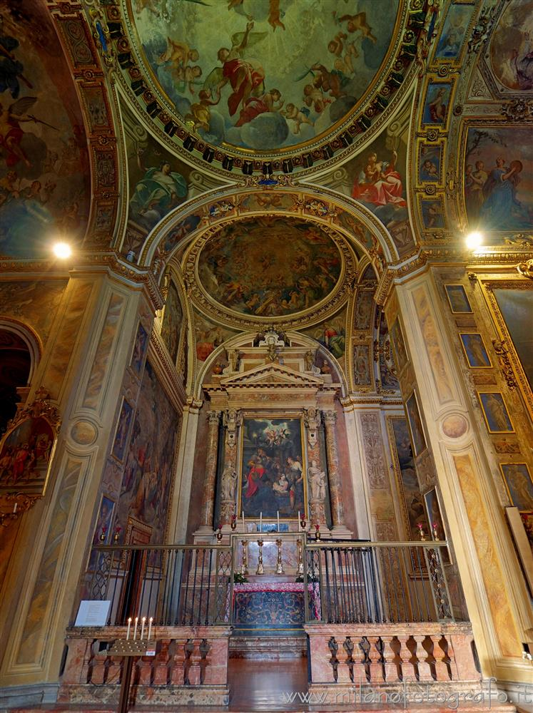 Milan (Italy) - Chapel of the Nativity in the Church of Sant'Alessandro