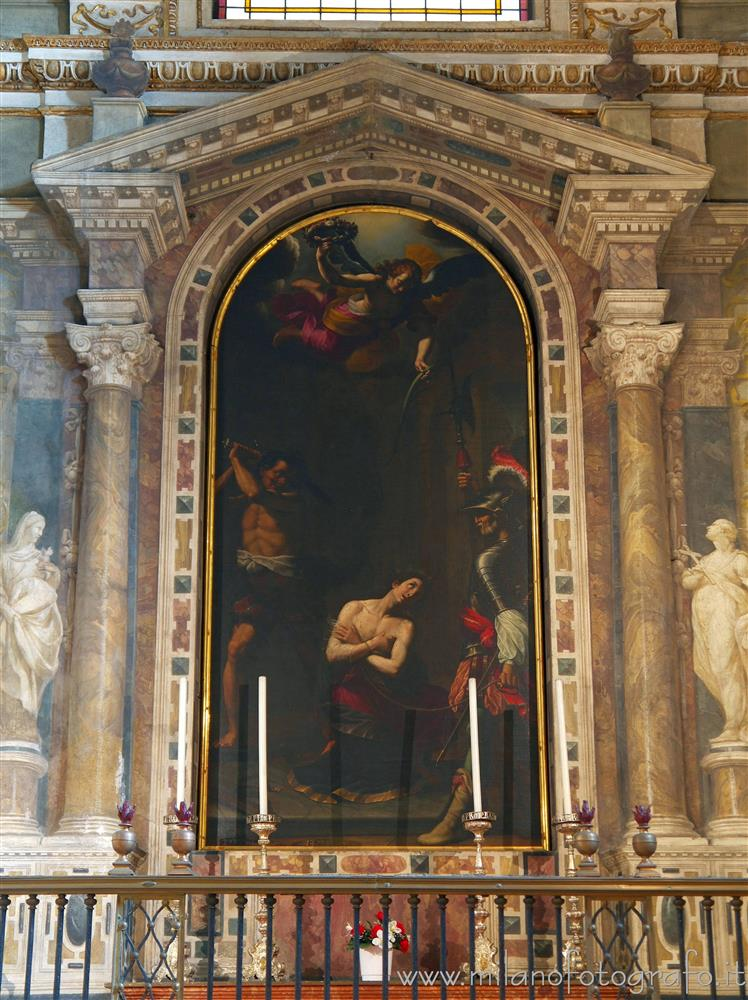 Milan (Italy) - Chapel of San Pancrazio in the Church of Sant'Alessandro