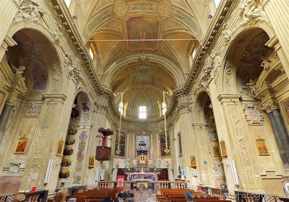 Milan (Italy) - Interior of the Church of Santa Maria Assunta al Vigentino