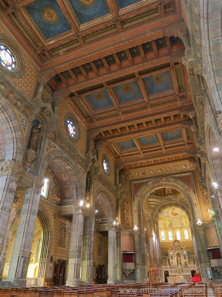 Milan (Italy) - Interiors of the Basilica of the Corpus Domini