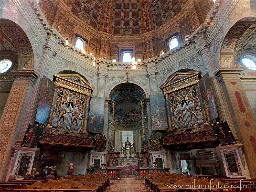 Milan (Italy) - Octagon of the Church of Santa Maria della Passione