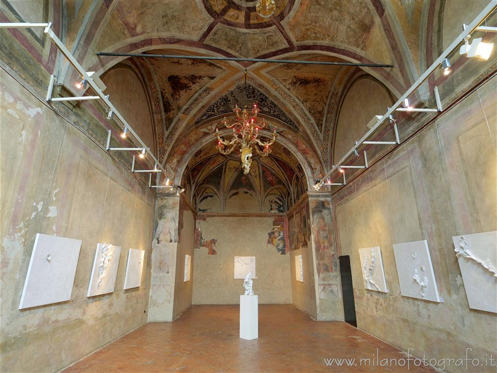 Milan (Italy) - Interior of the apse of the Oratory of the Passion