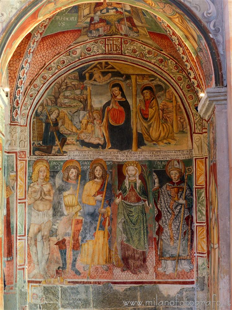 Orta San Giulio (Novara, Italy) - Chapel of the third right span of the Basilica of San Giulio