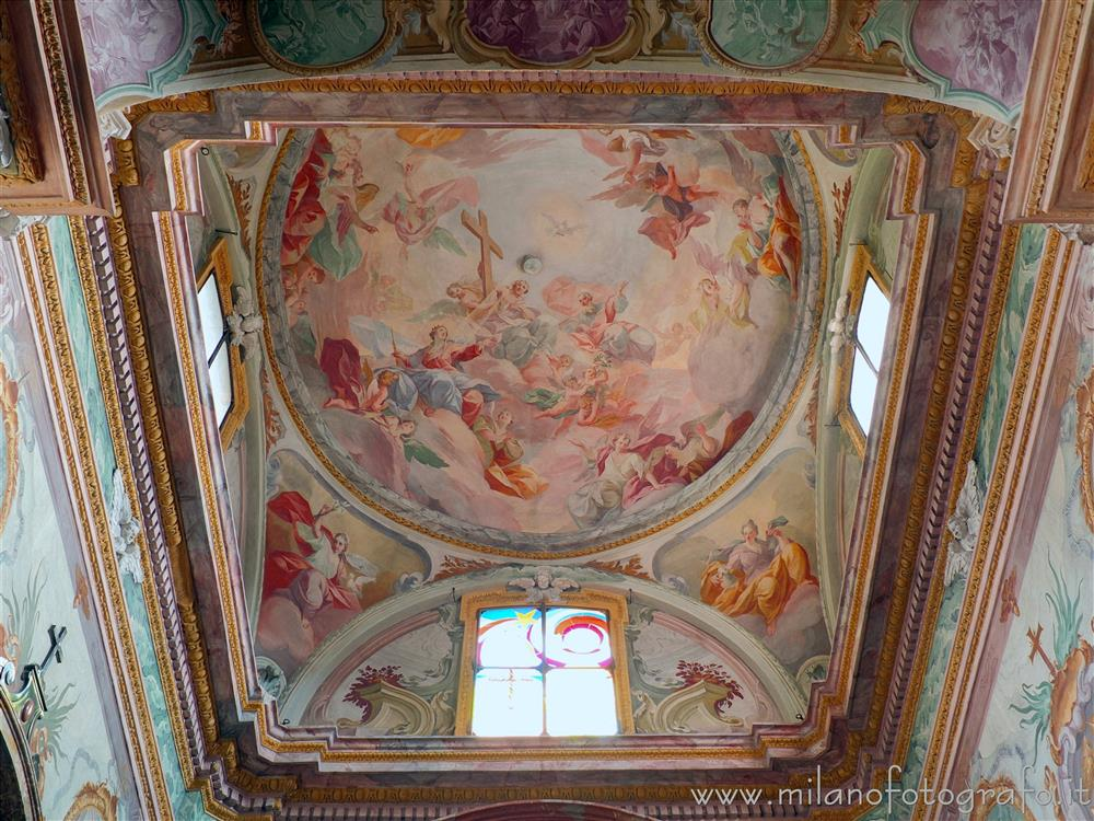 Orta San Giulio (Novara, Italy) - Dome of the Chapel of the Rosary in the Church of Santa Maria Assunta