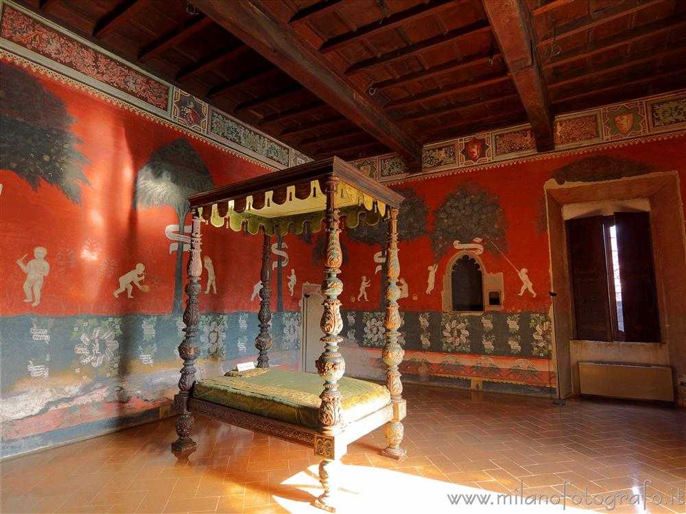 Castiglione Olona (Varese, Italy) - Room of the Cardinal in Branda Palace