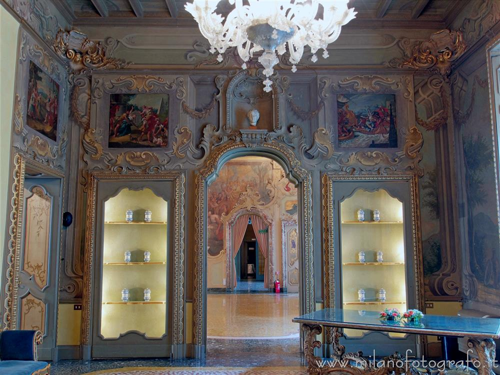 Milan (Italy) - Hall Room of Visconti Palace