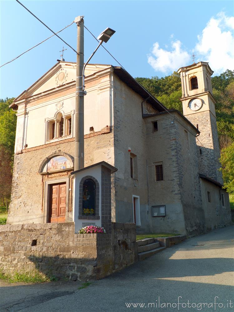 Passobreve fraction of Sagliano Micca (Biella, Italy) - Oratory of the Saints Defendente and Lorenzo