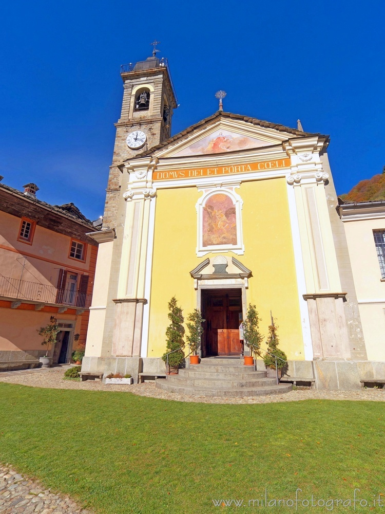 Piedicavallo (Biella, Italy) - Church of San Michele Archangelo