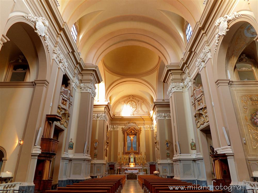 Rimini (Italy) - Interior of the Church of San Francesco Saverio, alias Church of the Suffrage