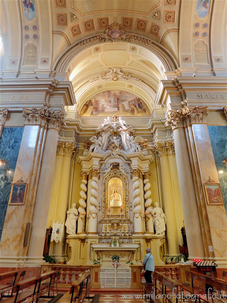 Rimini (Italy) - Chapel of the Carmine Vergin in the Church of San Giovanni Battista