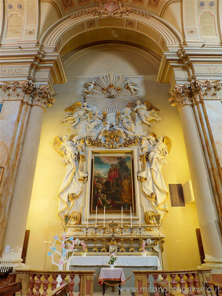 Rimini (Italy) - Chapel of St. John the Baptist in the homonymous church