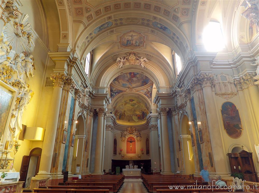 Rimini (Italy) - Interior of the Church of San Giovanni Battista
