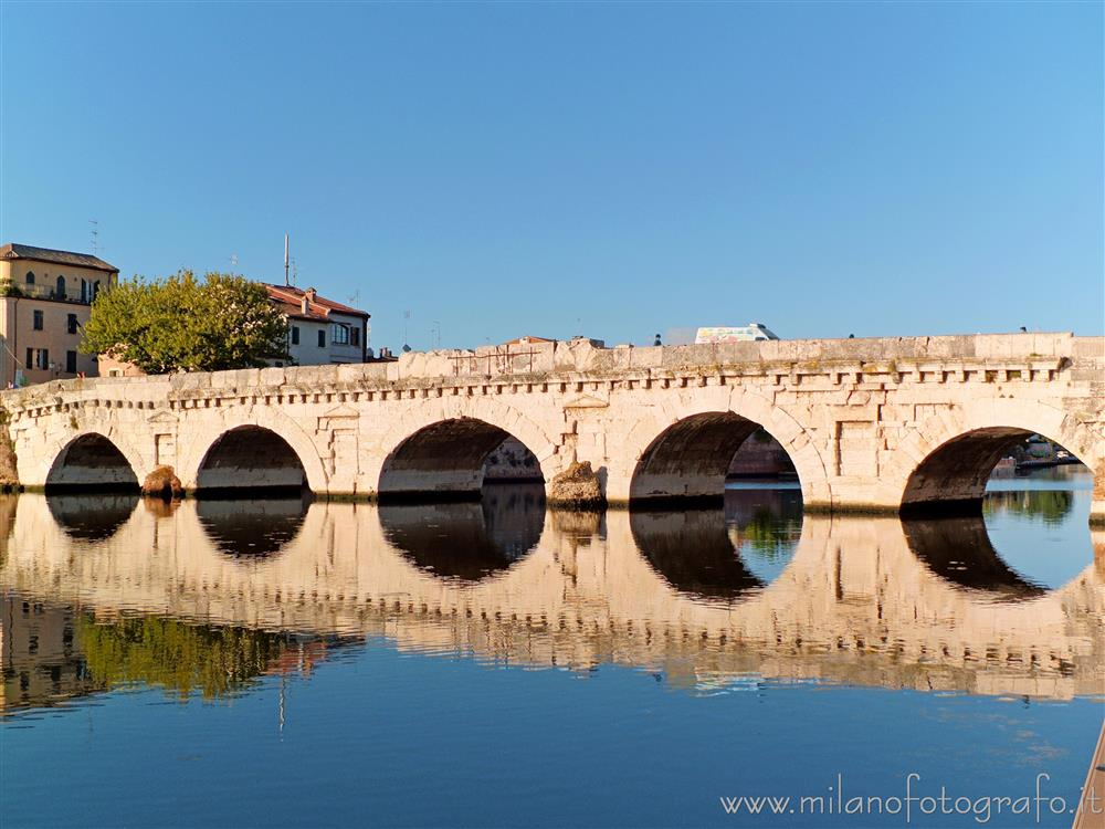 Rimini (Italy) - Bridge of Tiberius