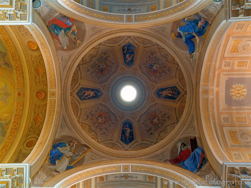 Rimini (Italy) - Interior of the dome of the Sanctuary of the Madonna della Misericordia