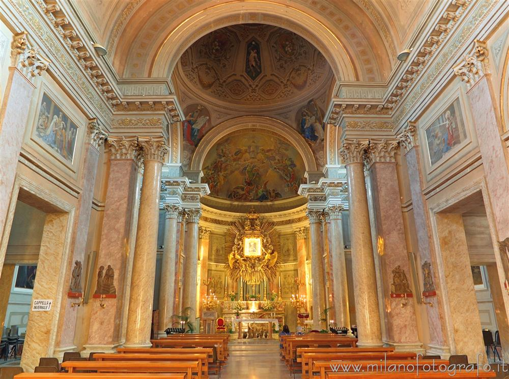 Rimini (Italy) - Interior of the Sanctuary of the Madonna della Misericordia