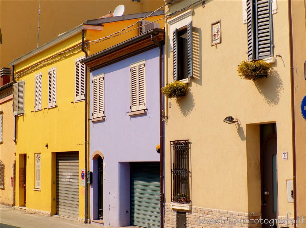 Rimini (Italy) - Houses in the old center