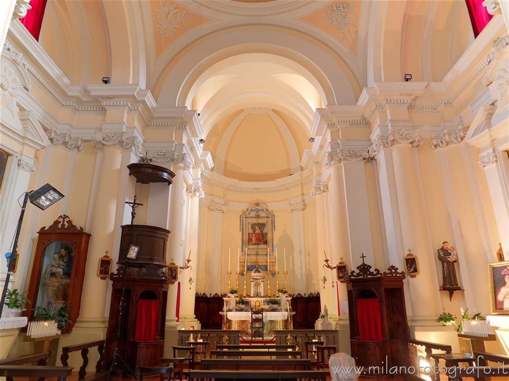 Interior of the Church of Santa Lucia - San Giovanni in ...