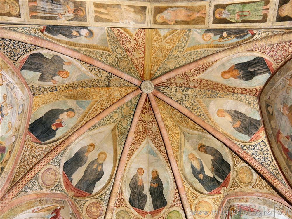Soffitto A Volta Affrescato : Affreschi sul soffitto della volta della cappella obiano della