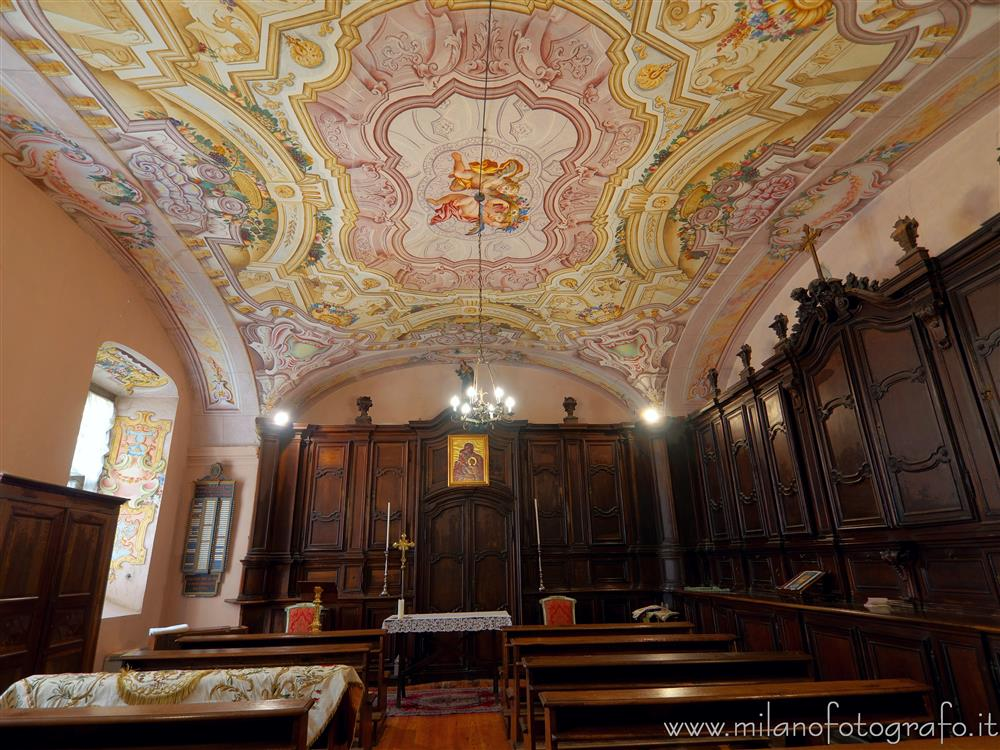 Graglia (Biella, Italy) - Sacristiy of the church of the Sanctuary of Graglia