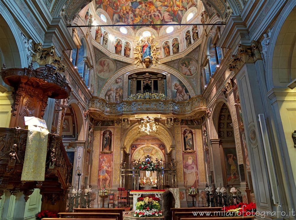 Saronno (Varese, Italy) - Central body of the Sanctuary of the Blessed Virgin of the Miracles