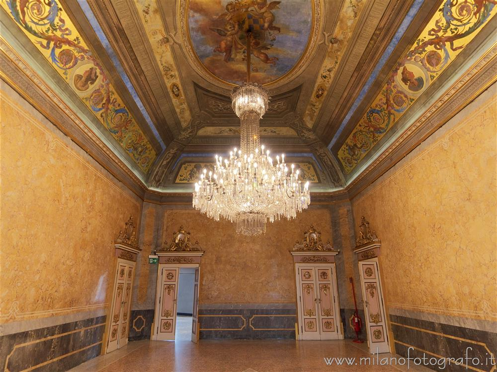 Milan (Italy) - Beauharnais Hall in Serbelloni Palace