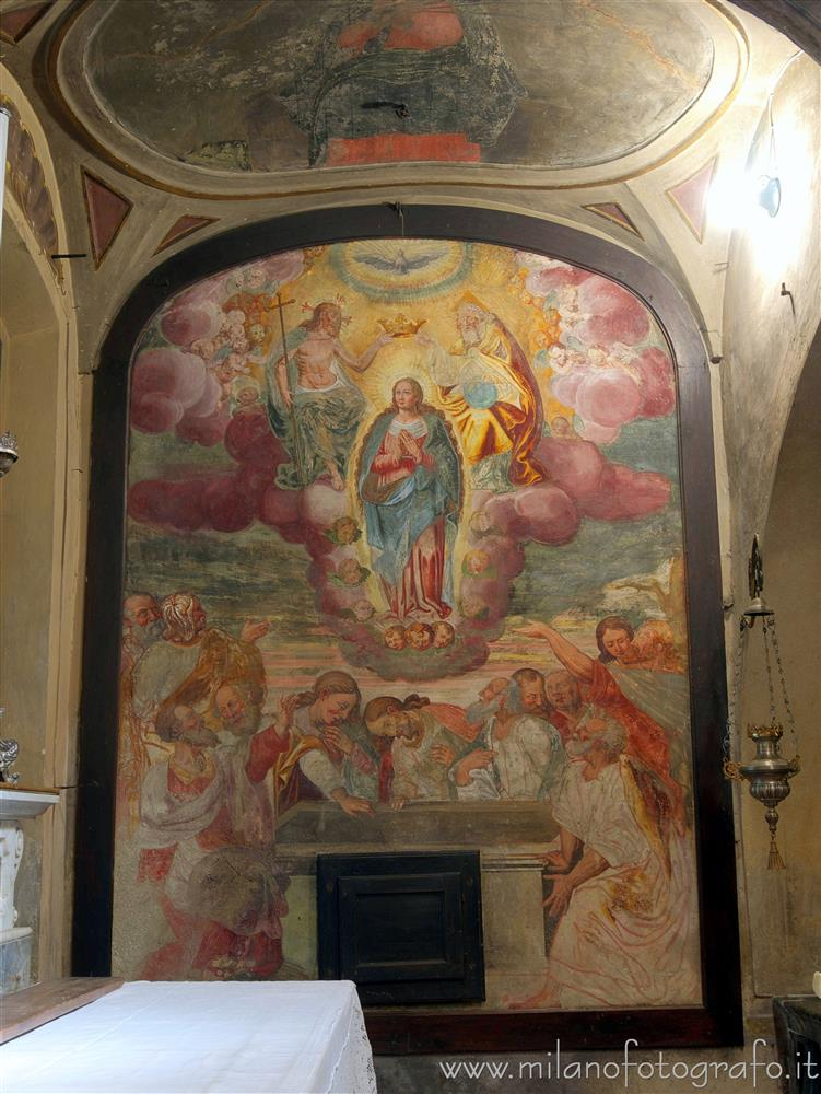 Soncino (Cremona, Italy) - Assumption and coronation of the Virgin in the Church of San Giacomo