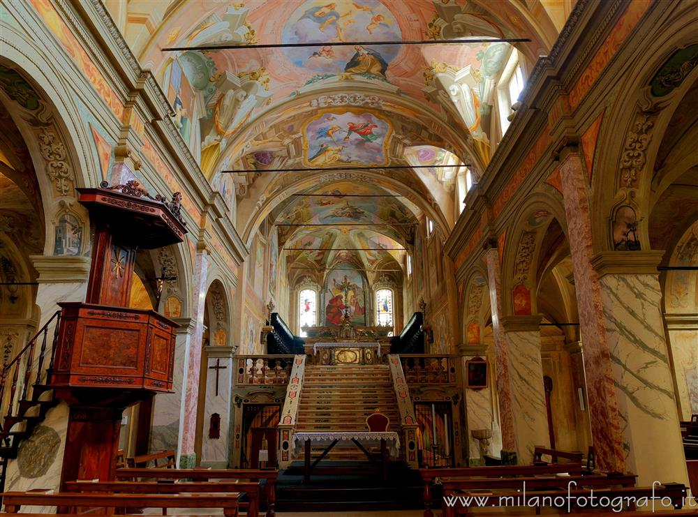 Soncino (Cremona, Italy) - Pulpit and presbytery of the Church of San Giacomo