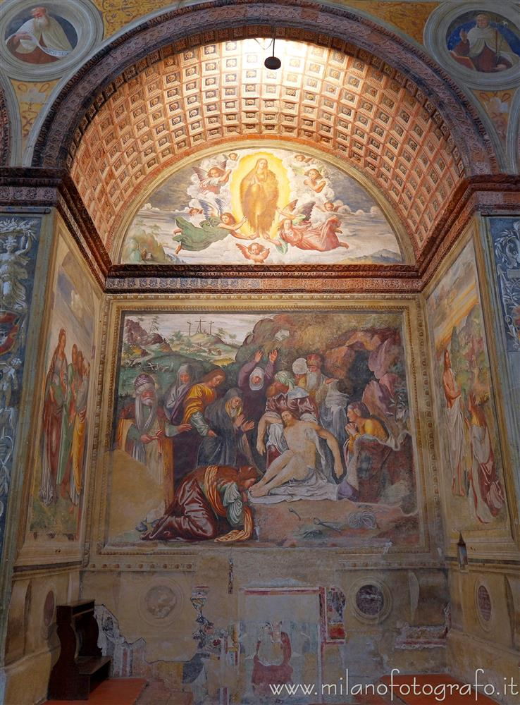 Soncino (Cremona, Italy) - Chapel of the Magdalene in the Church of Santa Maria delle Grazie