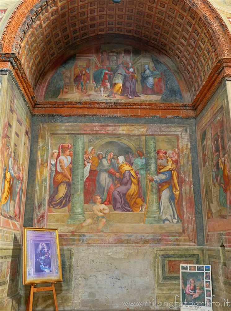 Soncino (Cremona, Italy) - Chapel of the Visitation in the Church of Santa Maria delle Grazie