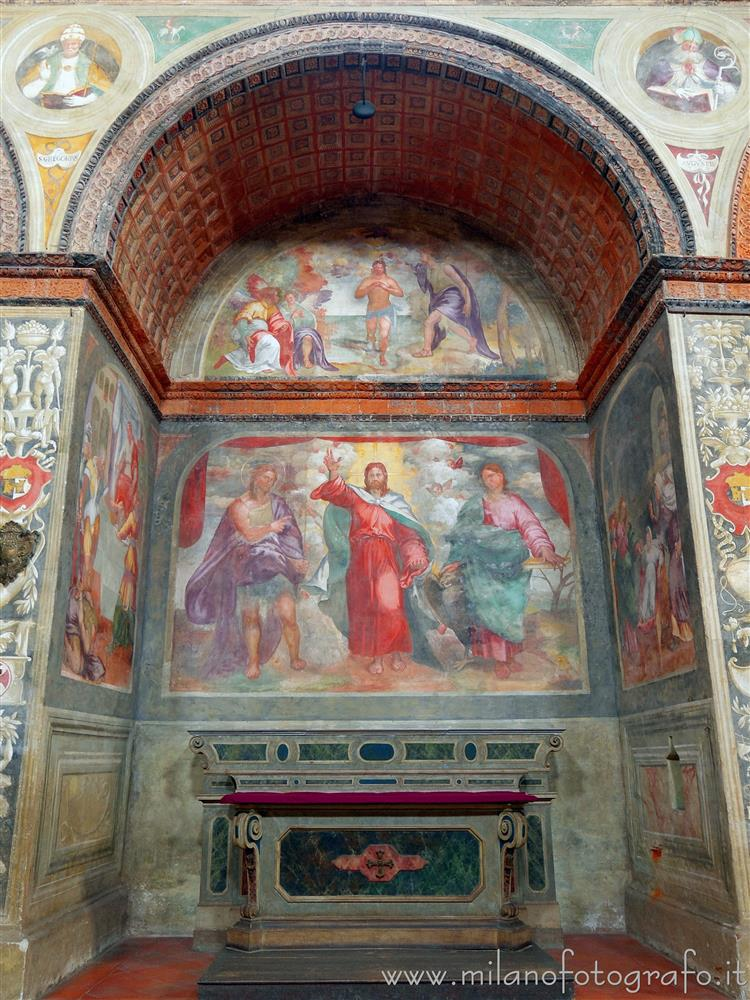 Soncino (Cremona, Italy) - Chapel of the Saints John the Baptist and Evangelist in the Church of Santa Maria delle Grazie