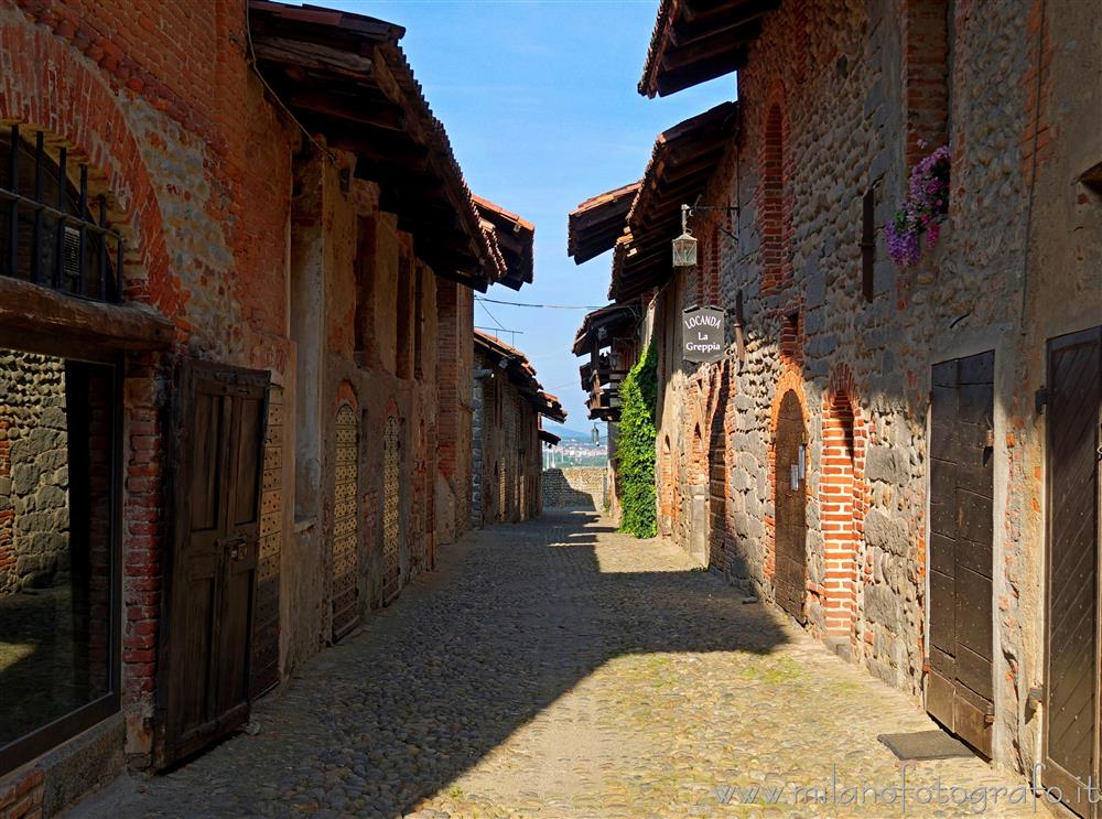 Candelo (Biella, Italy) - Street of the ricetto of Candelo
