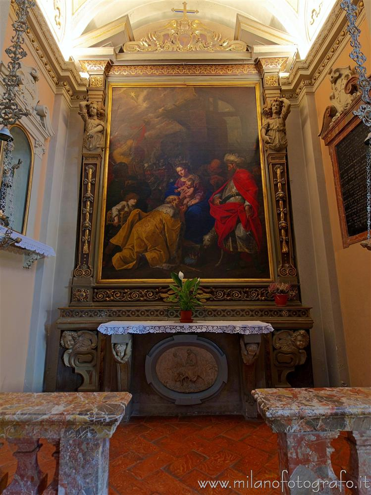 Milan (Italy) - Chapel of the Magi in the Church of San Giovanni Battista in Trenno