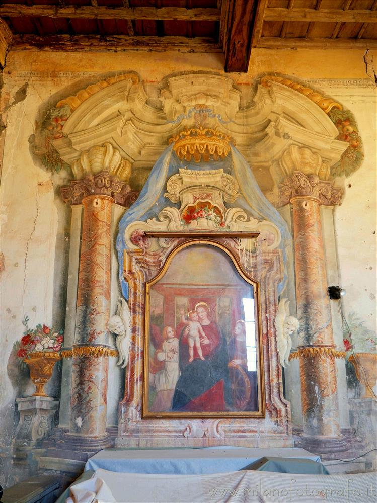 Vimercate (Monza e Brianza, Italy) - Mystic Marriage of Saint Catherine in the Church of Santa Maria Assunta