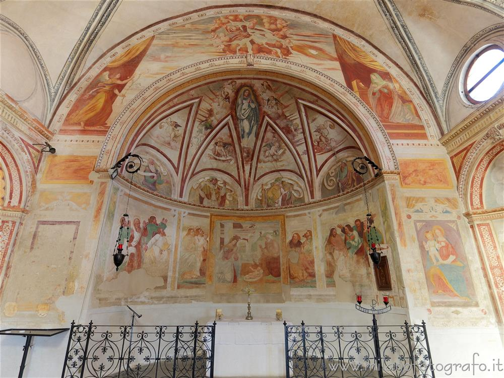 Vimodrone (Milan, Italy) - Apse of the Church of Santa Maria Nova al Pilastrello