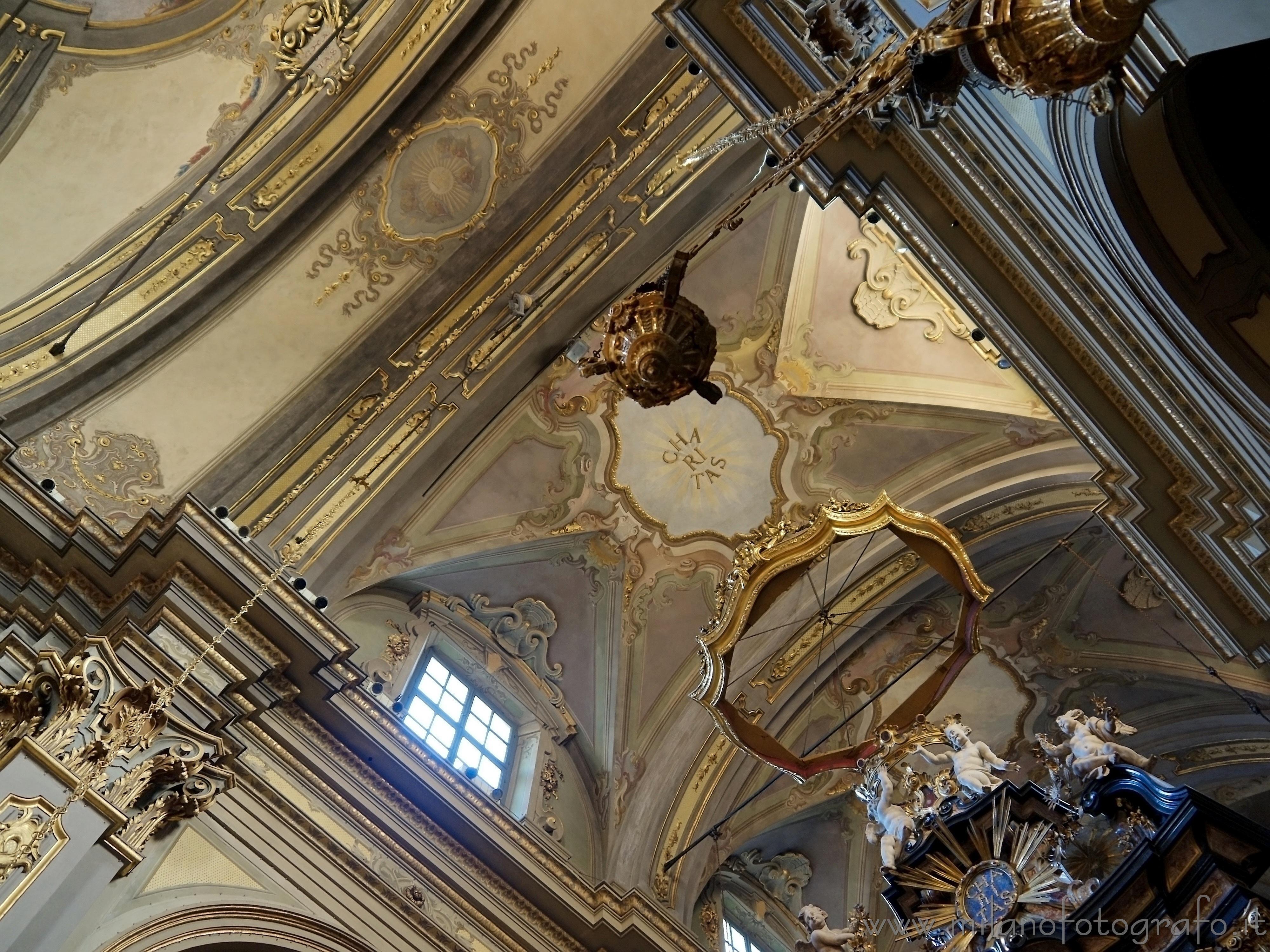 Milano: Soffitto della Chiesa di San Francesco da Paola - immagine a piena risoluzione
