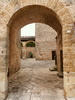 Nociglia (Lecce, Italy): Access to the courtyard of the baronial palace