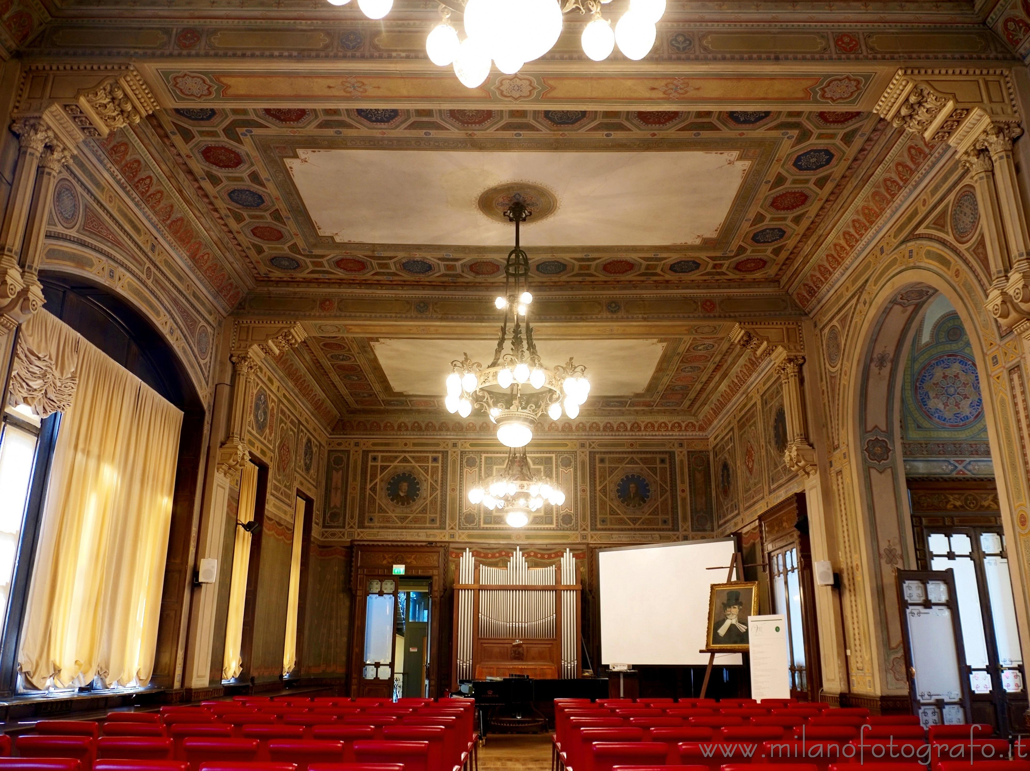 Milano salone concerti di casa verdi immagine a piena for Piccoli piani di casa verdi