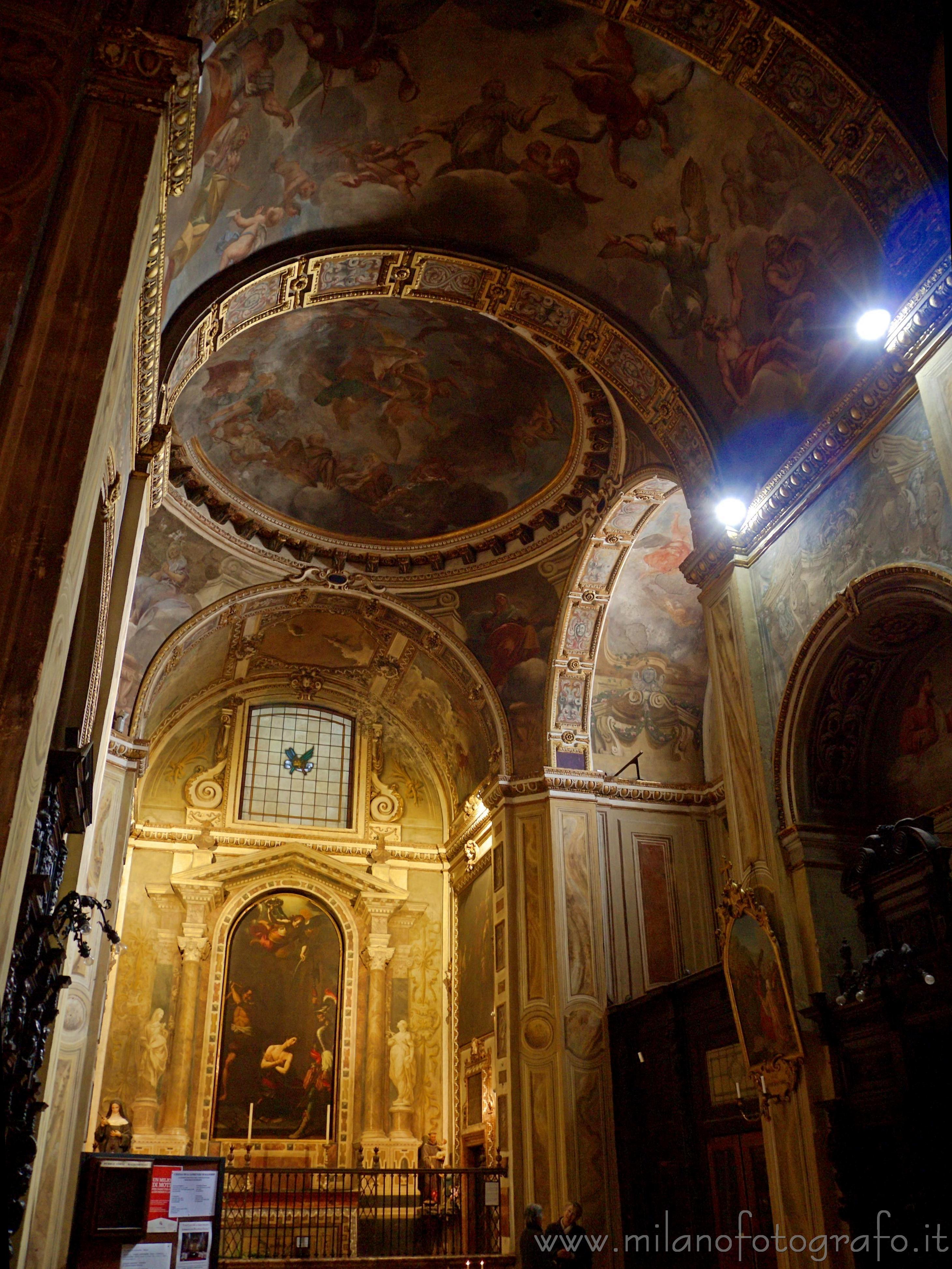 Milano: Soffitto di Sant Alessandro in Zebedia - immagine a piena risoluzione