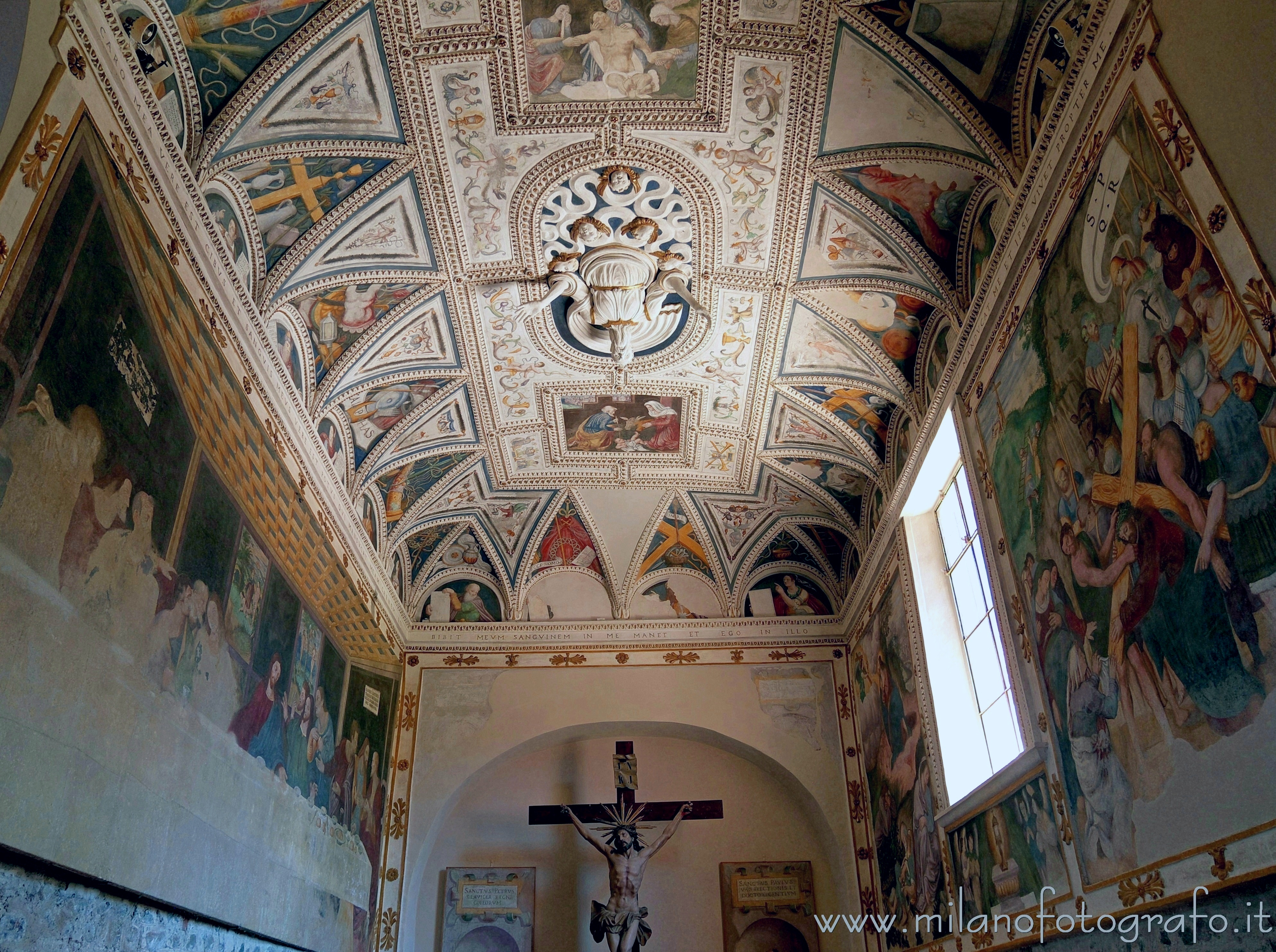 Sesto Calende (Varese, Italy): Right apse of the Abbey of San Donato - Sesto Calende (Varese, Italy)