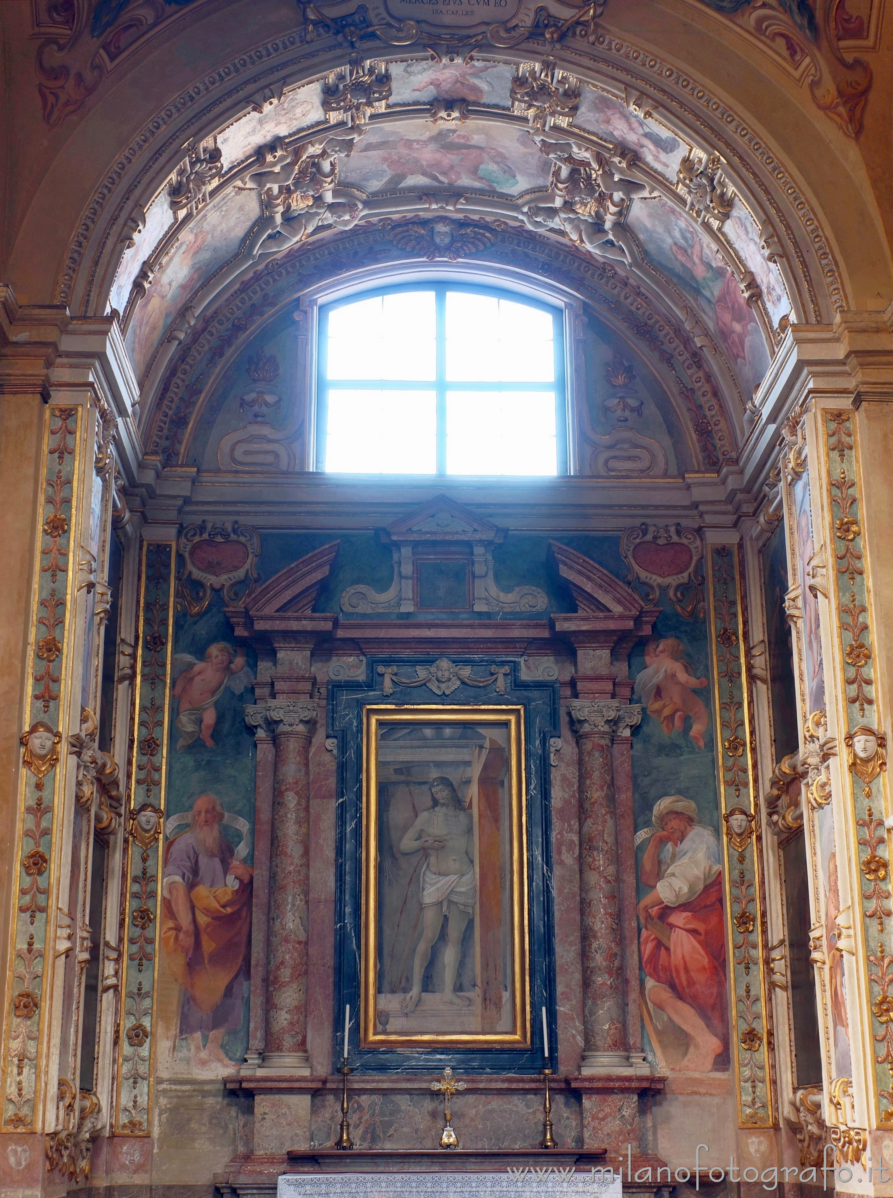 Vimercate (Monza e Brianza, Italy): Chapel of the Savior in the Sanctuary of the Blessed Virgin of the Rosary - Vimercate (Monza e Brianza, Italy)