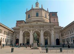 Basilica di San Lorenzo in Milan:  Churches / Religious buildings  Roman Milan Milan