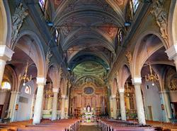 Places  of historical value  of artistic value in the Biella area: Church San Pietro