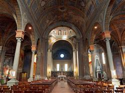 Places  of historical value  of artistic value in the Biella area: Church of San Sebastiano