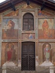 Places  of historical value  of artistic value around Milan (Italy): Carpignano Sesia (Novara)