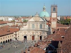 Places  of historical value  of artistic value around Milan (Italy): Vigevano
