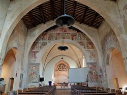 Places  of historical value  of artistic value around Milan (Italy): Convent of San Nazzaro della Costa
